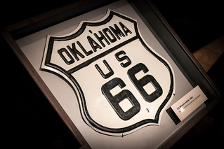 Route 66 Road Sign '12