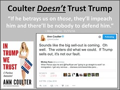 Coulter Doesn't Trust Trump
