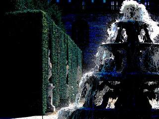 fontaine à Versailles (France)