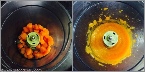 Carrot puree for babies - step 4