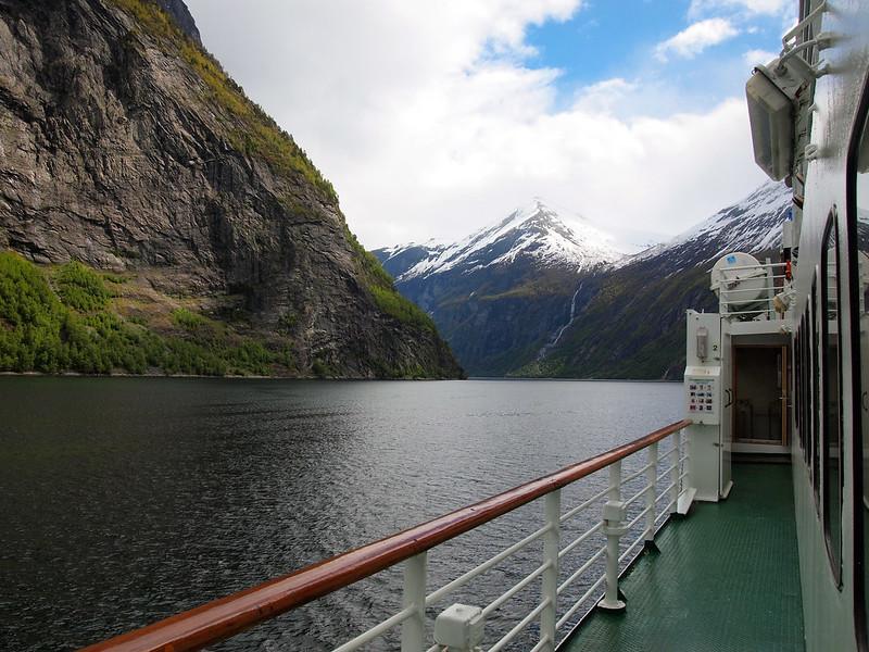 Geirangerfjord car ferry