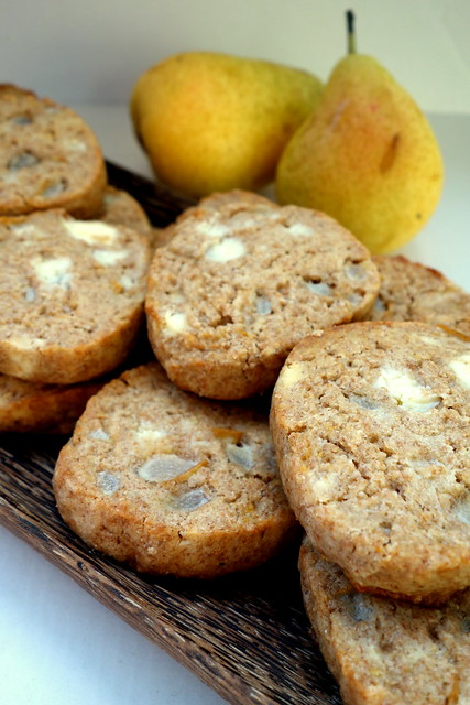 Pear & Feta cheese cookies