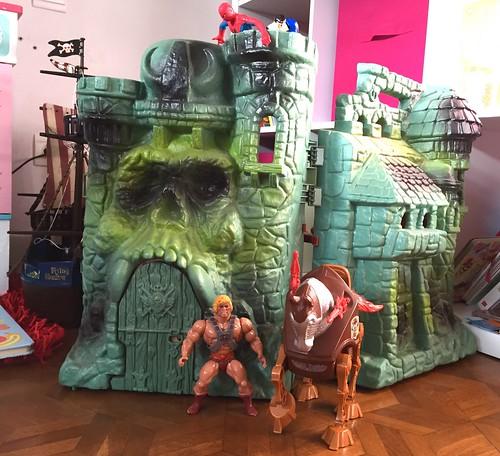 Musclor, Stridor et le château des ombres