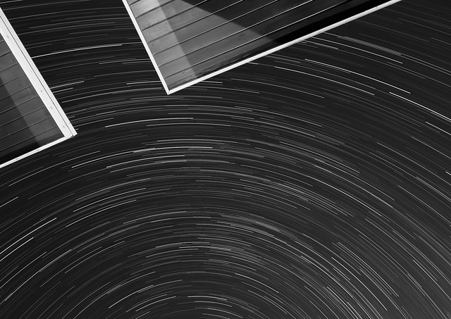Star Trails overhead