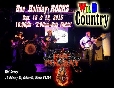 Doc Holiday 9-18, 9-19-15