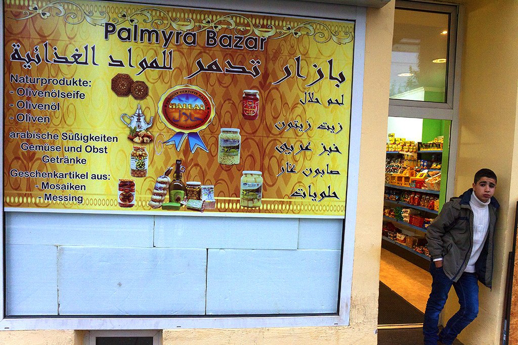 Syrian grocery in Neustadt--Leipzig