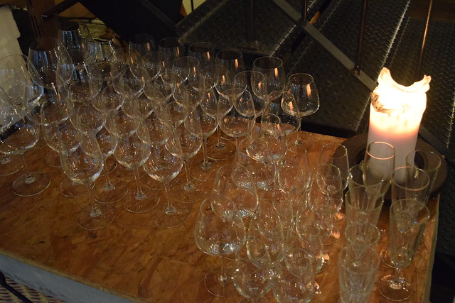 Glasses at Timberyard, Edinburgh