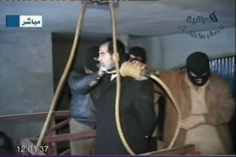 Execution of Saddam Hussein