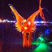DSC02304 - Glowing EL-Wire Angel Costume - Burning Man 2015