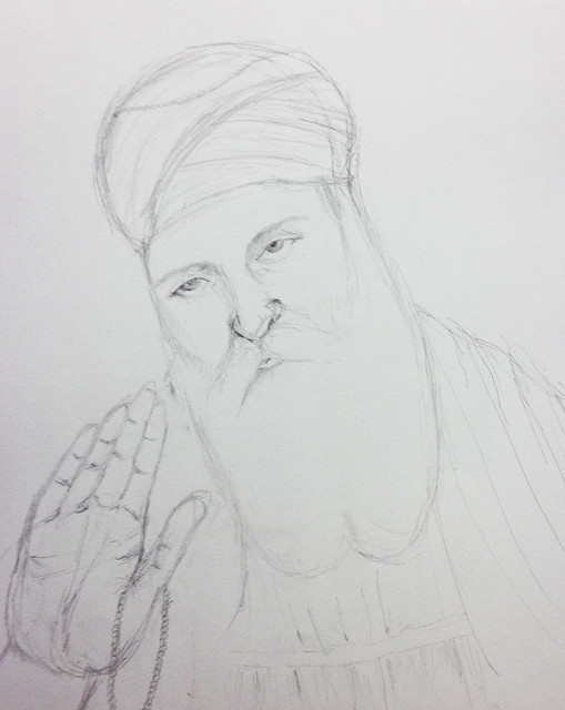 Artwork Guru Nanak Dev Ji Sketch Images