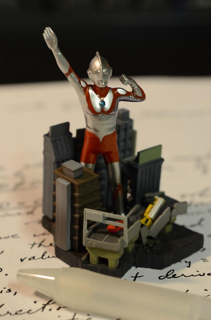 Ultraman diorama