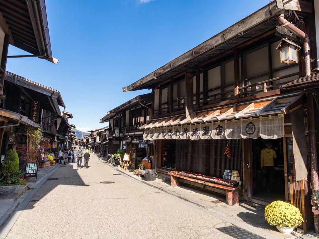 奈良井宿①