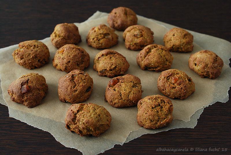 Skinny pumpkin cookies