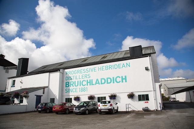 Bruichladdich Distillery #夢見た英国文化
