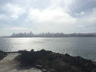 San Francisco Views From Alcatraz