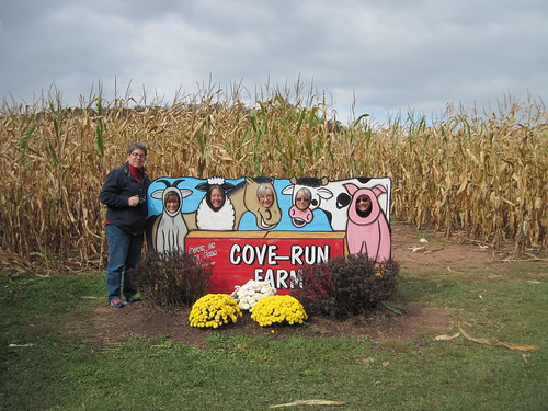 A little corn maze fun!