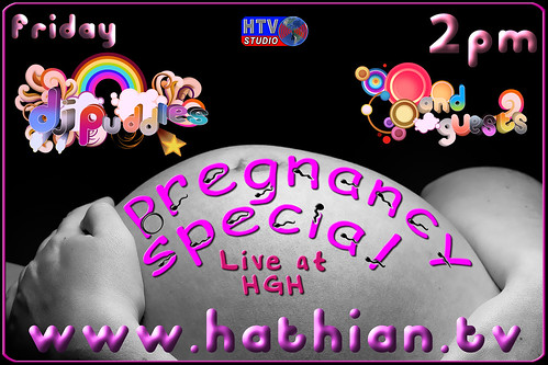 DJ Puddles - Pregnancy Special Poster