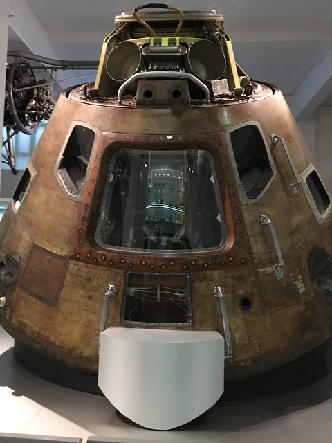 Apollo 10 command module!