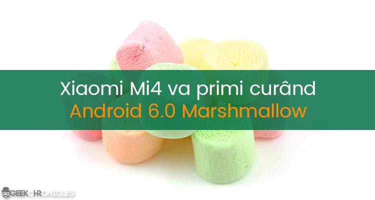 xiaomi mi4 android 6