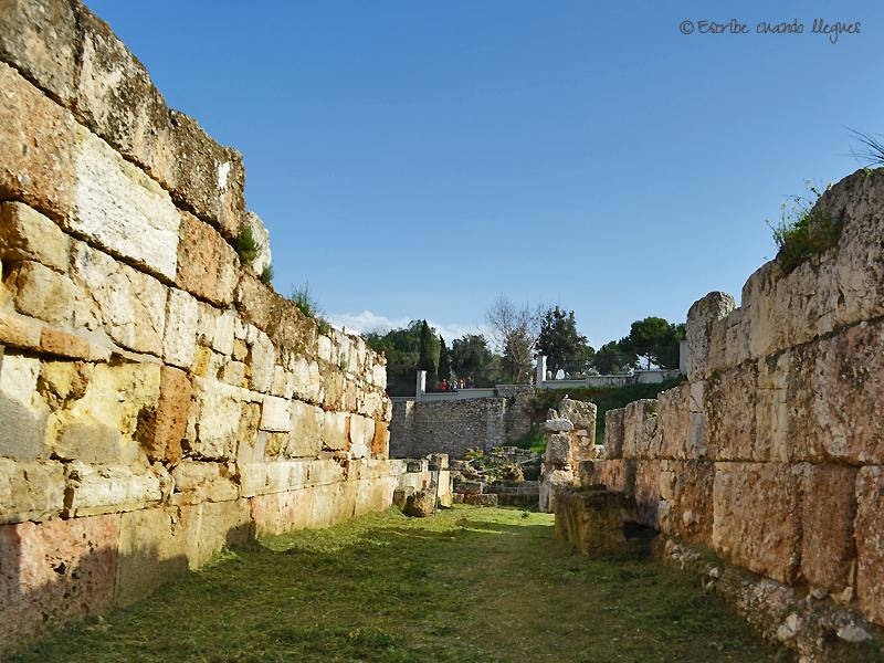 Trozo de muralla dentro de Kerameikos
