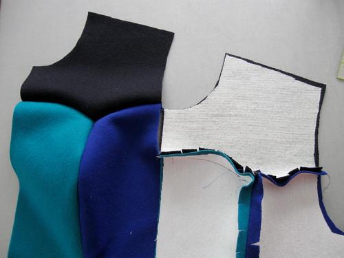 tricolor front seams