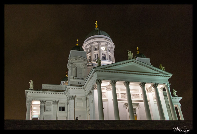 Laponia viaje Madrid Helsinki - Catedral evangélica
