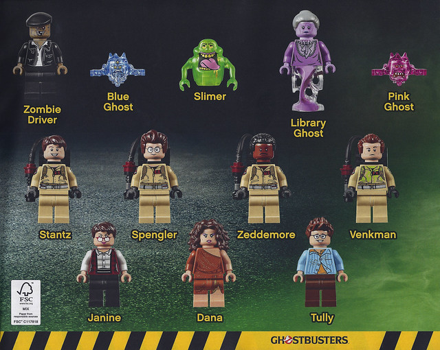 LEGO Ghostbusters 75827 Firehouse Headquarters review