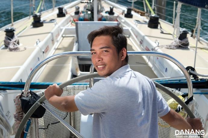 Người Việt đầu tiên dự cuộc đua trên biển dài nhất thế giới