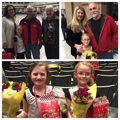 Christmas Tavaci performance was a success! These sweet girls sang and danced their hearts out! Nice treat to have both sets of grandparents join the fun! :notes::christmas_tree::santa::notes: