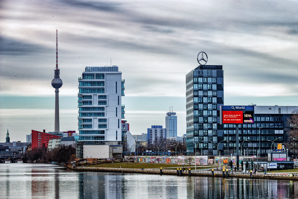 Berlin EastSide Cityscape