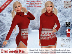 Maci - Xmas Sweater Dress (Group Gift)