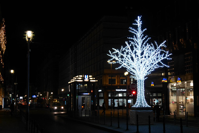Christmas Tree on Friedrichstrasse