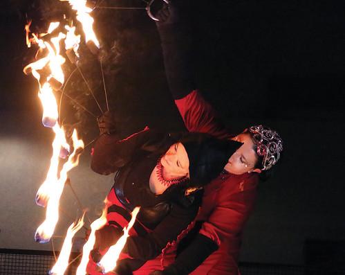 Solstice Fire Show