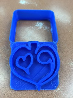 3D cookie cutter