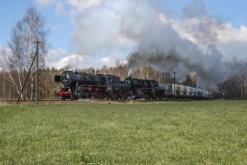 train germany steam bahn germania treni dampf nossen vapore sassonia saxen br52