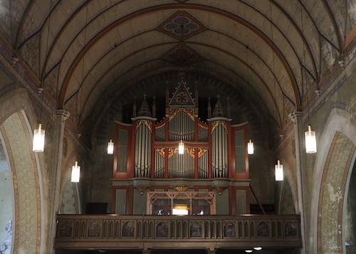 Orgelempore mit Rühlmann-Orgel