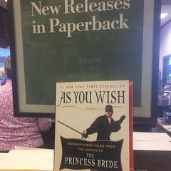 It's #inconcievable if you haven't picked up your copy yet! #caryelwes #princessbride #book #paperback #read #asyouwish #barnesandnoble #bn @barnesandnoble @cary_elwes @princessbridemovie @the.princess.bride #love #happilyeverafter #truelove #twuewuv
