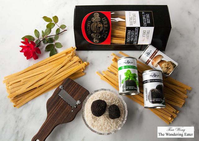 Urbani Truffle Prodcuts - Whole Burgundy Black Truffles, Truffled Sauces, Truffled Dried Pasta