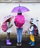 DIY backpack rain covers from umbrellas