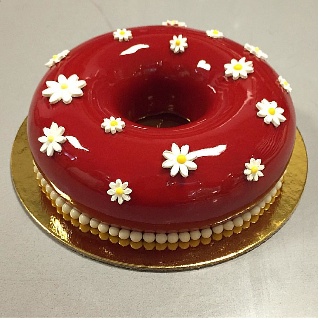 Bachour Chocolate Cake