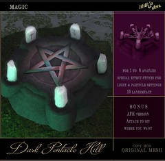 Lilith's Den Dark Pentacle Hill