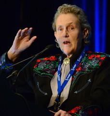 Temple Grandin talking at NABT 2016, Denver, Colorado