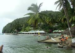Saint Lucia, Marigot Bay and Doolittle's Restaurant Bar