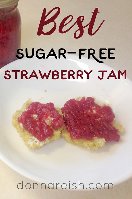 BEST Sugar-Free Strawberry Jam