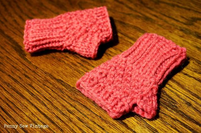 Toddler Fingerless Gloves