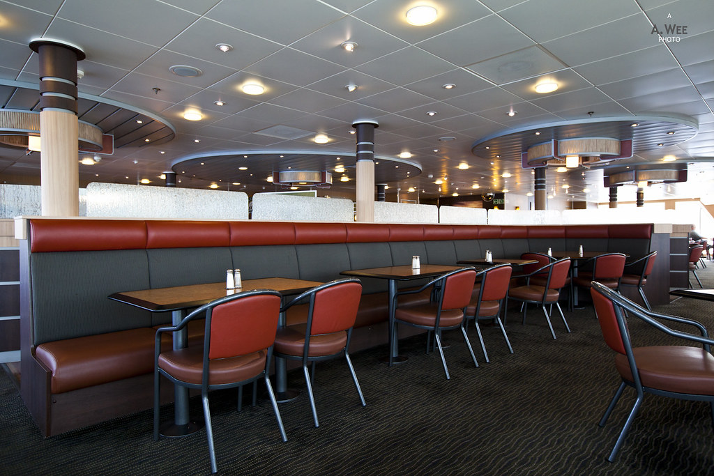 Pacific Buffet seating