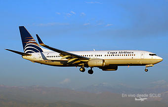 COPA Airlines B737-800 HP1536 sunset (RD)