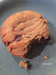 scratch kitchen & bake shop's peanut butter chocolate chip cookie