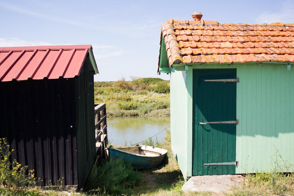 Cabanes en bois en Charentes Maritime