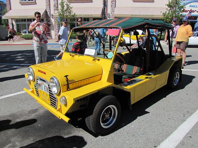 1965 Mini Moke at the Little Car Show 2015